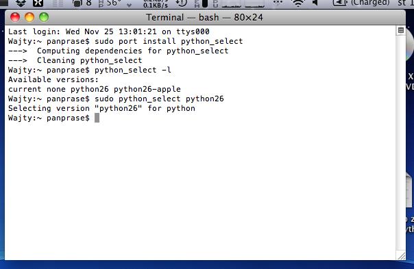 PyGTK aneb GUI pro textovky na Macu – PanPrase cz