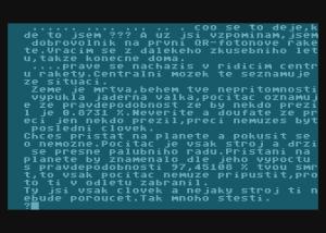 herni obrazovka